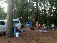 Our messy campsite by Jennie