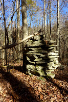 Cairn, six feet high